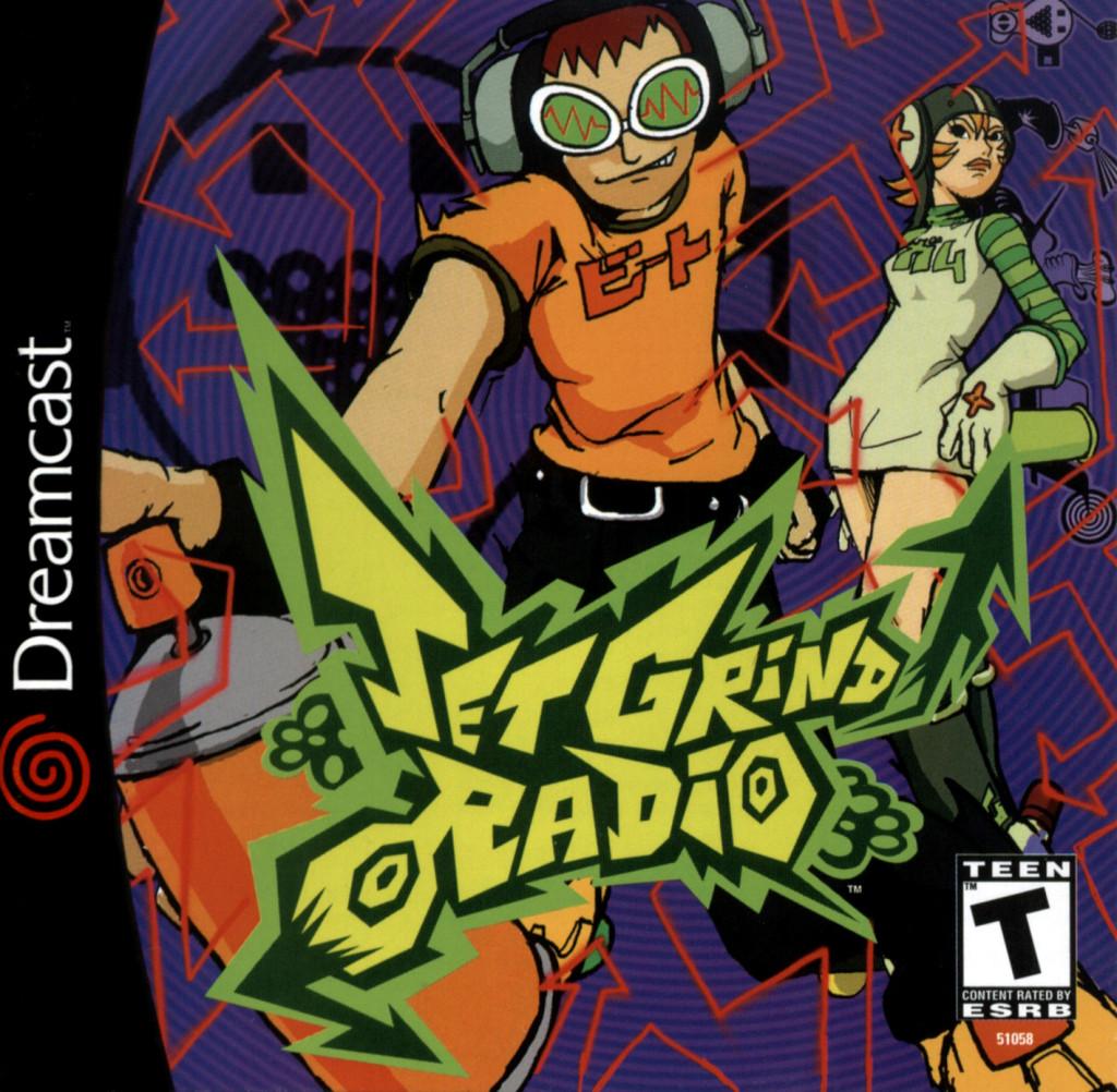 Jet Grind Radio FRONT